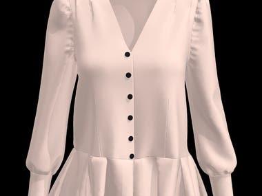 Female Short Dress