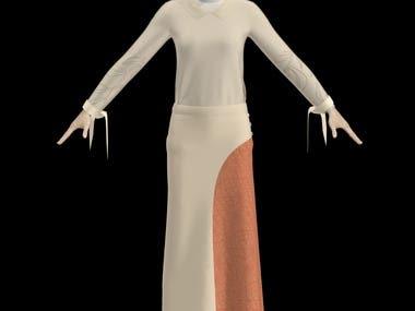 Female Long Dress