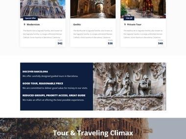 Tour Website Of Barcelona