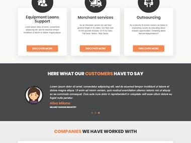 Logistic Services, Carrier & Consulting Website