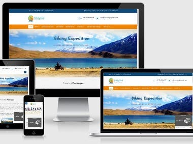 Website Design holidayexcelindia