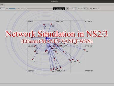 NS2&3 SIMULATION
