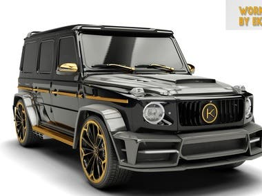 3D MODEL OF MODIFIED GCLASS FOR CLIENT