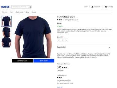 Shopping web site