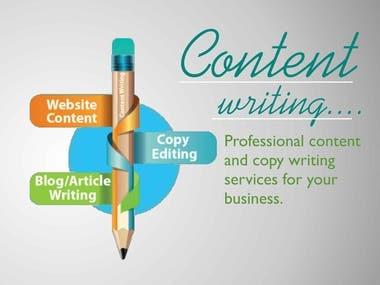 Blog Article, Website Contents, Press Release