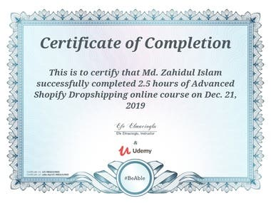 Advanced Shopify Dropshipping