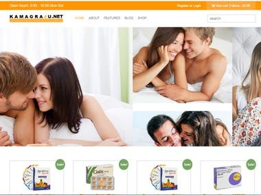 Wordpress site for sale products(Kamagra )