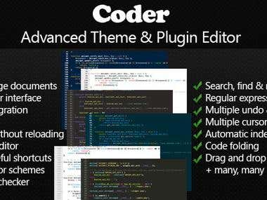 Coder - Advanced Theme & Plugin Editor