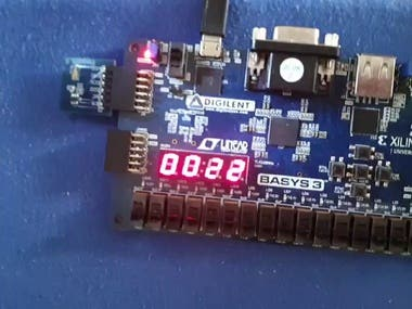 ALS PMOD intensity measurement on Basys3 with 8051ip core