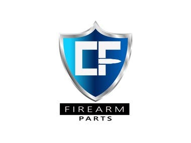 A firearm dealer logo