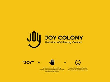 Joy Colony Logo Design