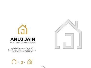 AJ Logo Design