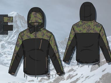 SPORTSWEAR MOUNTAIN JACKETS