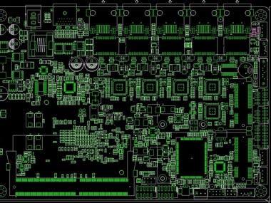 Industrial control motherboard