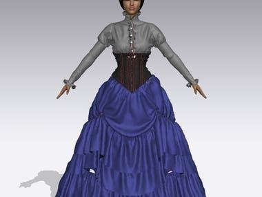 Character Design & Fashion Design