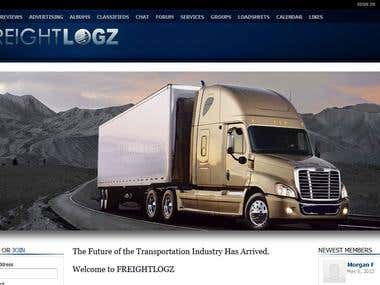 Freightlogz is a social networking website