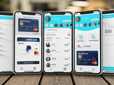 Money Transfer App UI