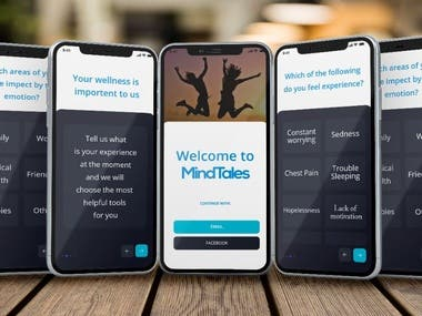 Mental Health App UI