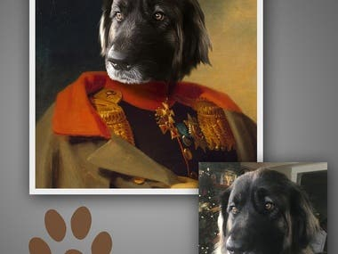 Historical Portrait Digital Painting