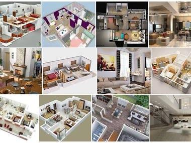 3D interio design
