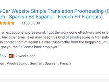 Multi-language translation and proofreading