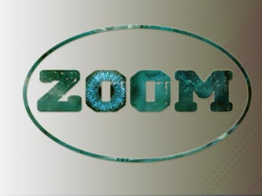 Logo for ZOOM company