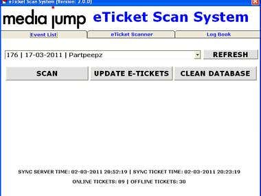 eTicket Scan System