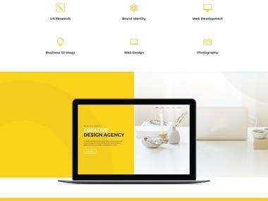 Web agency design