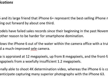 iPhone6 Review and specifications