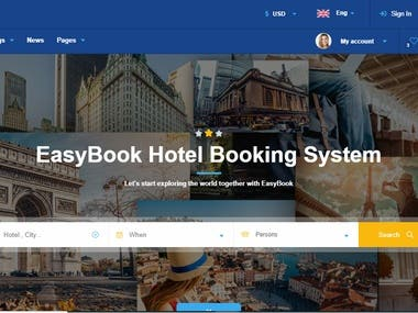 EasyBook Hotel Booking System