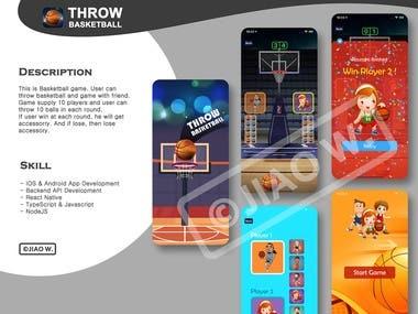 Throw Basketball