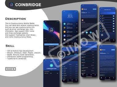 CoinBridge - CryptoCurrency Mobile Wallet
