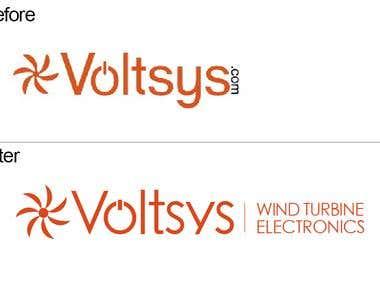 Voltsys website banner contest (&logo update)
