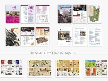 book & page design