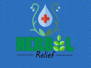 """New Logo for """"Herbal Relief""""$30 USD"""