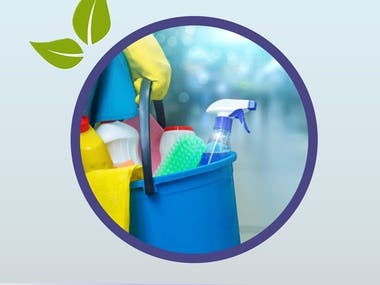 Cleaning Agency Electrnic Banner