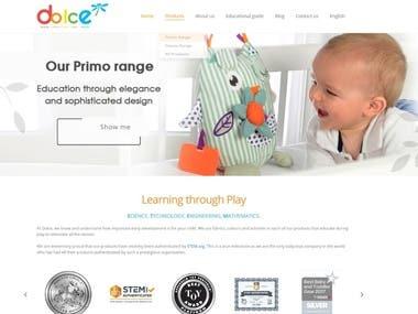 Juguetes para bebés WEB