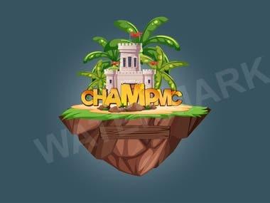 ChampMC logo design