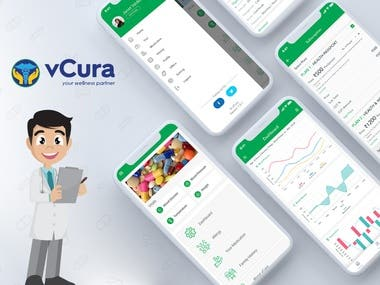 App that records, monitors & analyzes healthcare information
