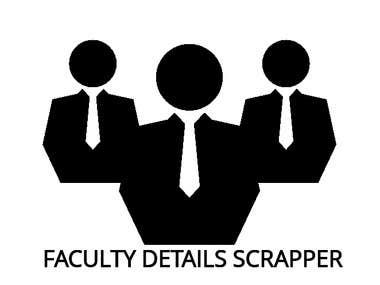 Faculty Details Scrapper