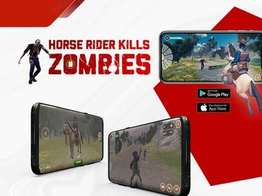 VR Horse Rider Kills Zombies Game