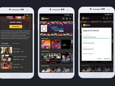 Shorts TV app for Android and IOS