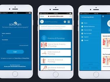 Sonosim app by React Native