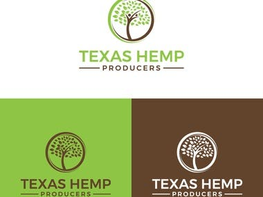 Hemp Company Logo Design