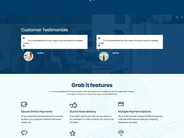 Grab It Laravel Website