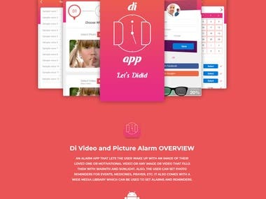 DI VIDEO AND PICTURE ALARM