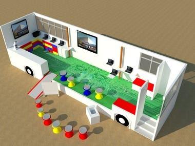 Bus classroom