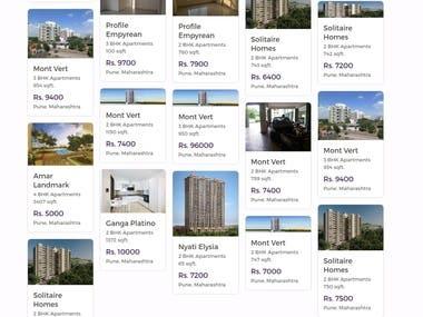 Flooroof Django Based Real Estate Webapp