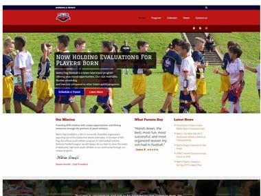 DFW Football Club Website