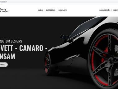 F-Body Custom Designs Ruby on Rails EComerce